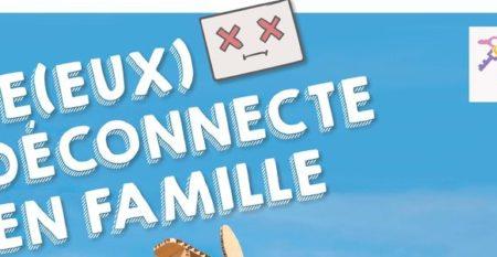 AFFICHE JEUX DECONNECTE -800300